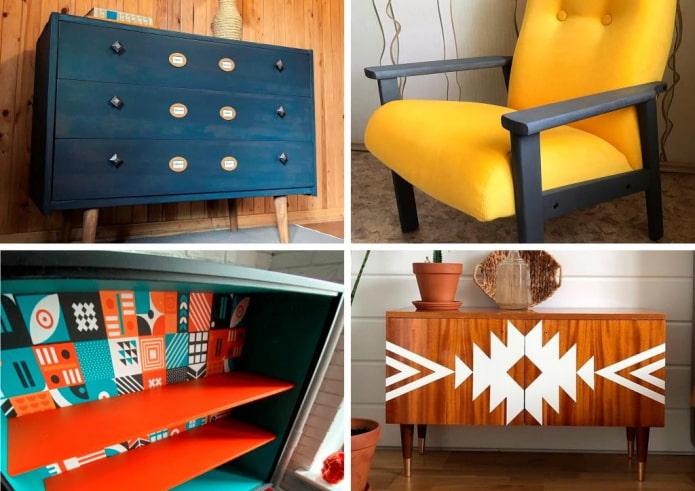 10 идей переделки советской мебели для вдохновения