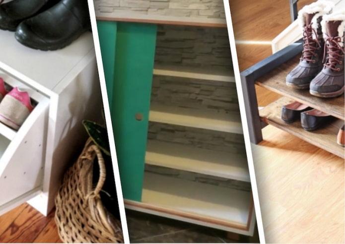 Подборка мастер-классов по созданию обувницы своими руками