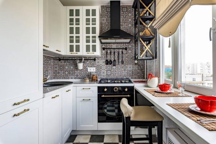 Как обустроить интерьер кухни 2 на 3 метра?
