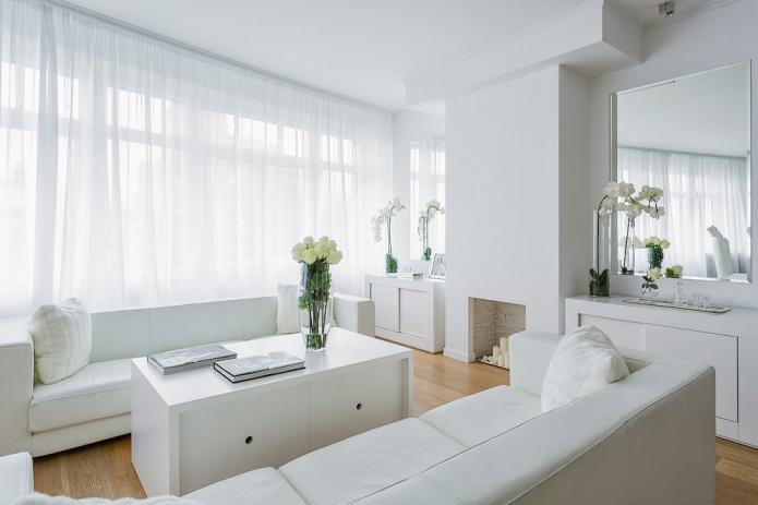 Как смотрится белая мебель в интерьере?