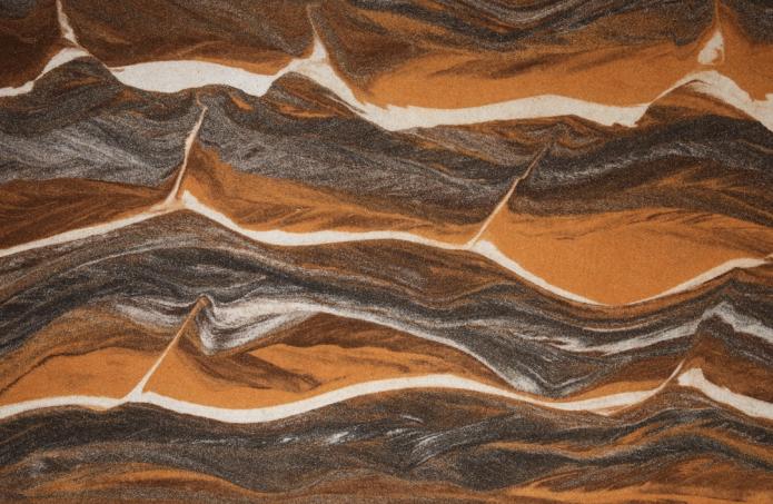 Гибкий камень в интерьере – виды и особенности монтажа