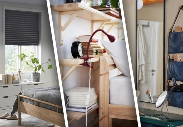 Подборка идей из ИКЕА для маленькой спальни