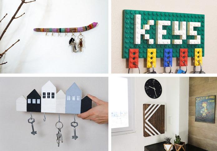 Пошаговые инструкции создания ключницы своими руками