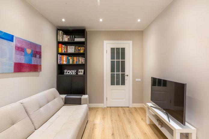 Чем заменить обычную стенку в гостиной?