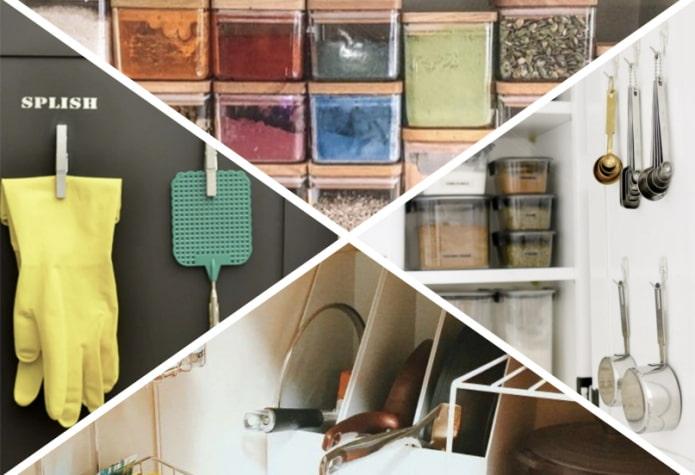 Как навести порядок в кухонных шкафах?