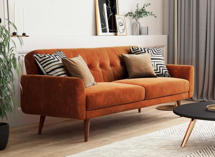 Какие бывают материалы для обивки дивана?