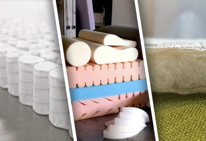 Как выбрать наполнитель для дивана?
