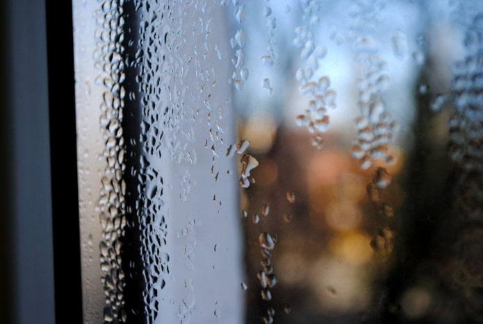 Как исправить потеющие окна?