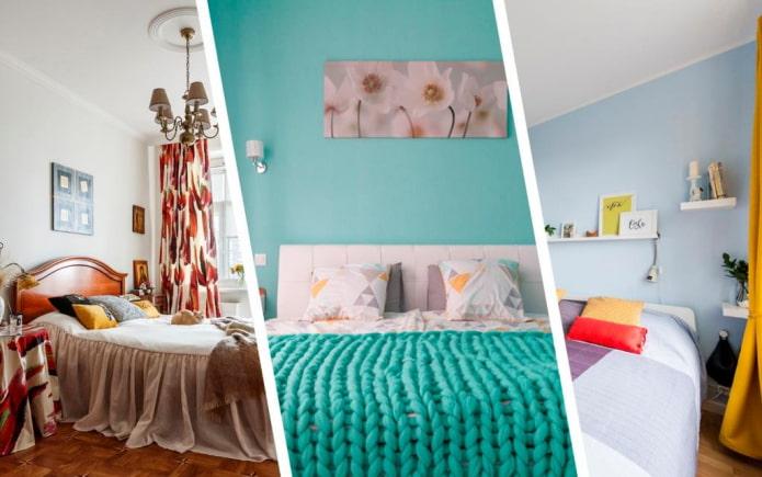 10 красивых спален, которые оформлены просто и со вкусом
