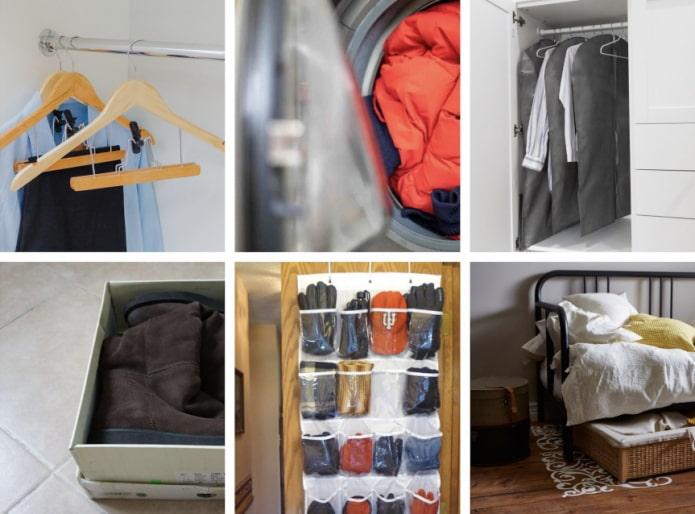 Как организовать сезонное хранение вещей?