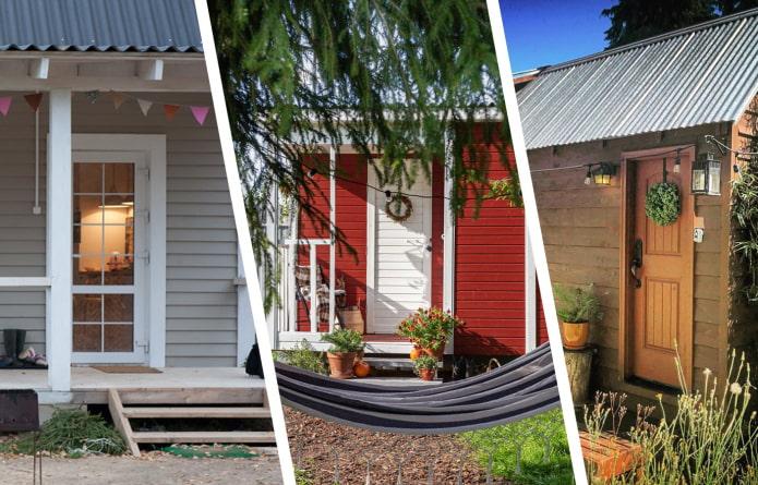 Красивые маленькие дома