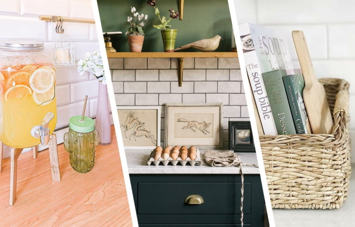Как украсить кухонную столешницу?