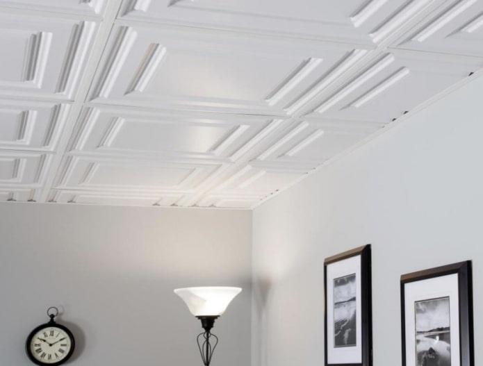 Особенности монтажа потолочной плитки