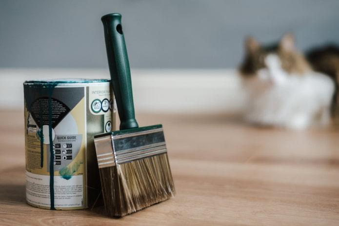 Как устранить запах краски после ремонта?