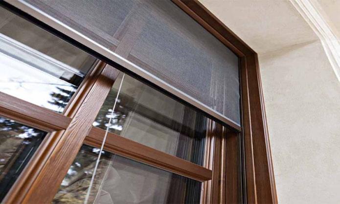 Установка москитной сетки на окна