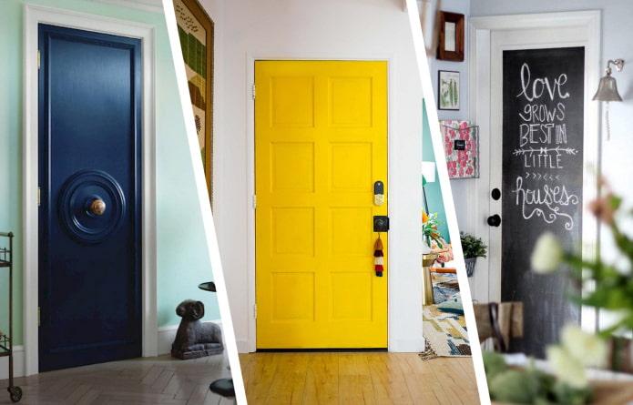 Как обновить старую дверь?