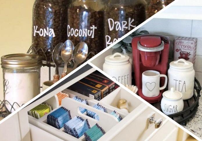 Как хранить кофе и чай?