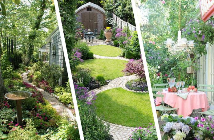 Как сделать маленький сад просторнее?