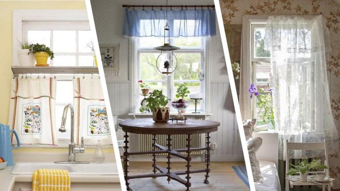 Как оформить окна на даче?