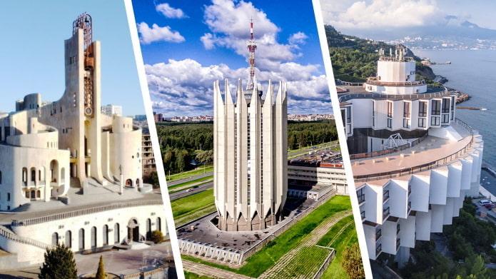 Красивые советские постройки