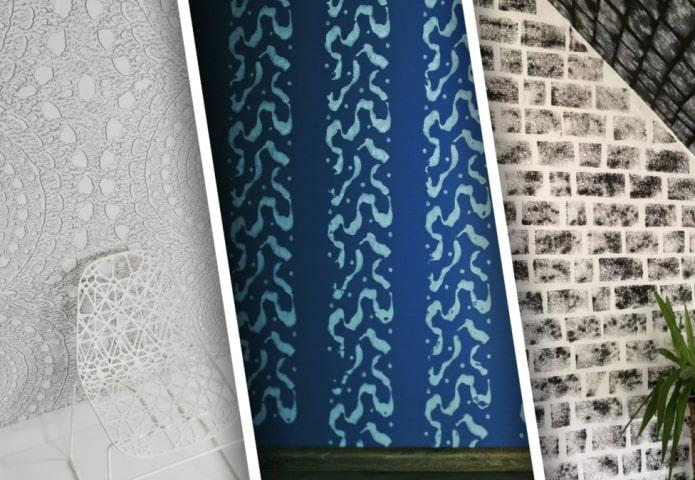 Узоры и текстуры для отделки стен