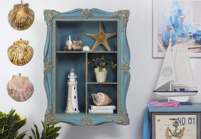 Морской стиль в интерьере: описание, выбор цвета, отделки, мебели и декора
