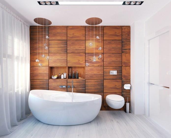 Дизайн интерьера красивой ванной 8 кв. м.