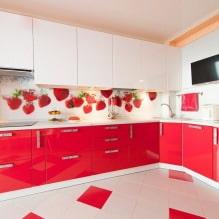 Кухни со скинали: особенности, фото-1