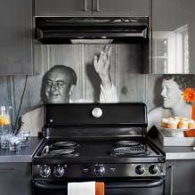 Кухни со скинали: особенности, фото-11