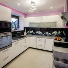 Кухни со скинали: особенности, фото-9