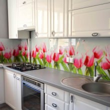 Кухни со скинали: особенности, фото-2