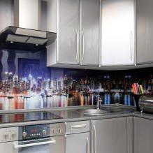Кухни со скинали: особенности, фото-10