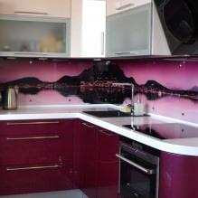 Кухни со скинали: особенности, фото-7
