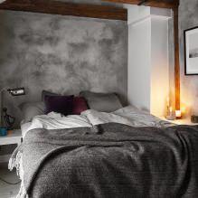 Дизайн спальни в серых тонах: особенности, фото-1