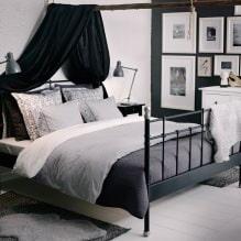 Дизайн спальни в серых тонах: особенности, фото-4