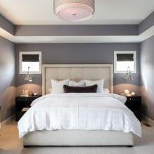 Дизайн спальни в серых тонах: особенности, фото-6