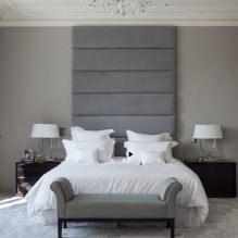 Дизайн спальни в серых тонах: особенности, фото-5